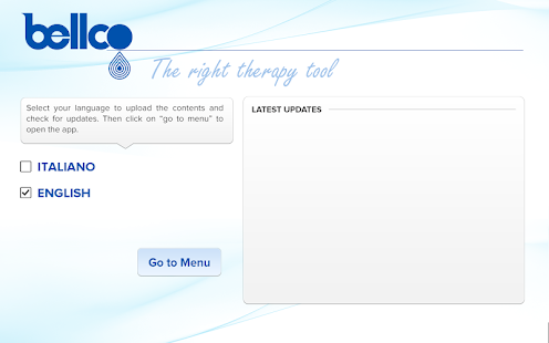 Bellco The Right Therapy Tool- screenshot thumbnail