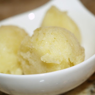 Pineapple Jalapeno Sorbet.