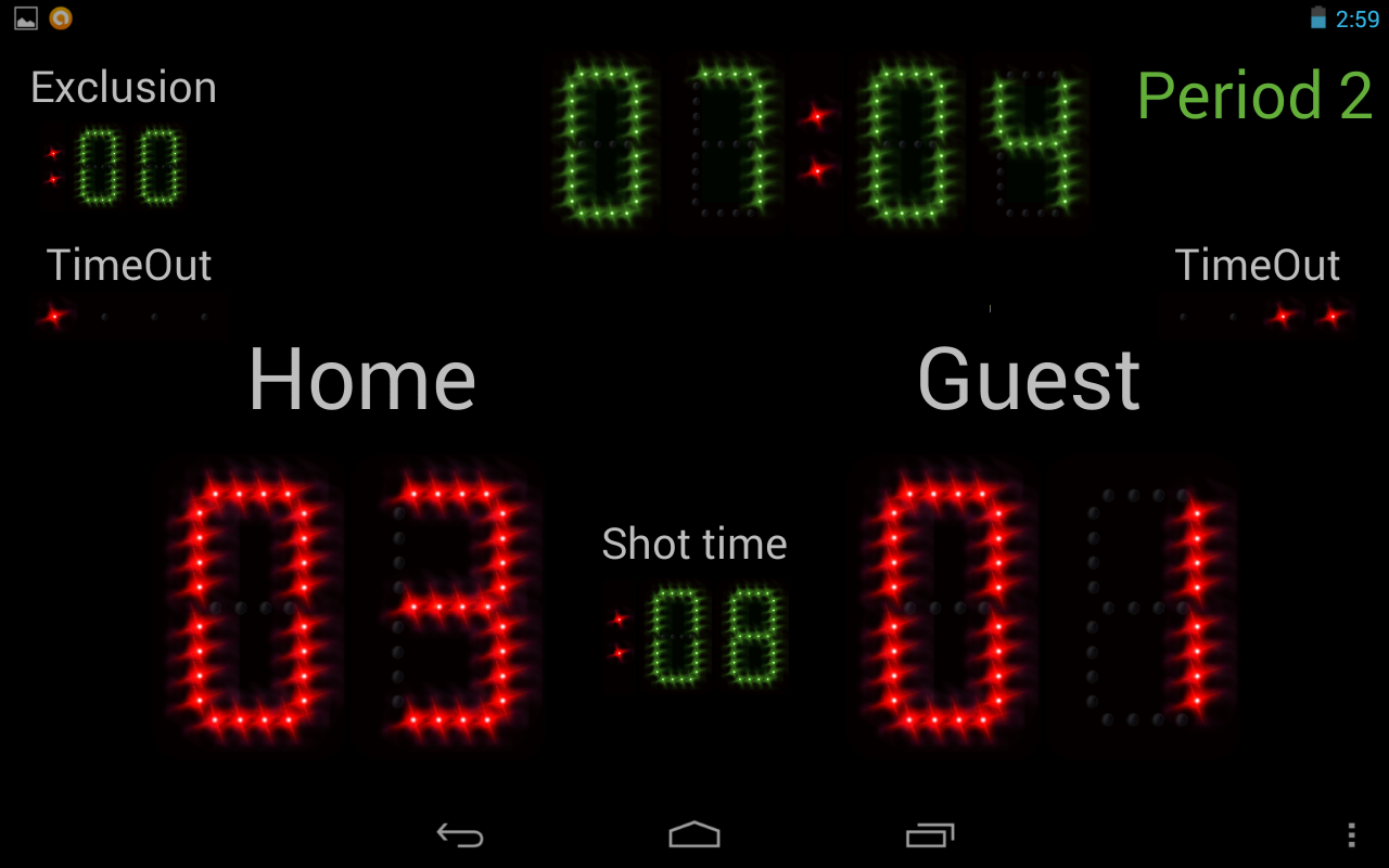 Scoreboard +++ - screenshot