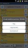 Screenshot of Nummar