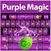 Purple Magic Keyboard