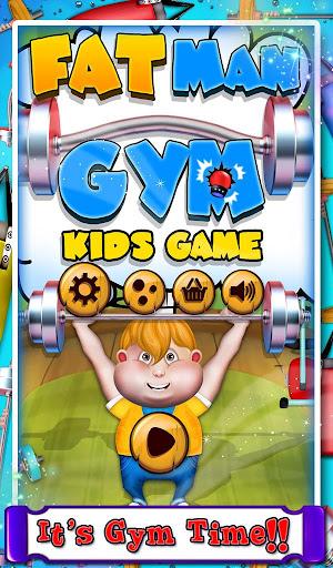 Fat Man Gym - Kids Game