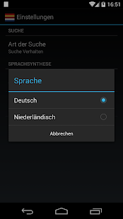 Offline German Dutch Dict.- screenshot thumbnail