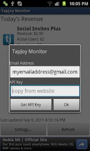 Revenue Monitor for Tapjoy- screenshot thumbnail