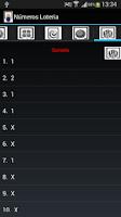 Screenshot of Generate Numbers Spain Lottery