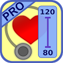 Blood Pressure Diary Pro icon