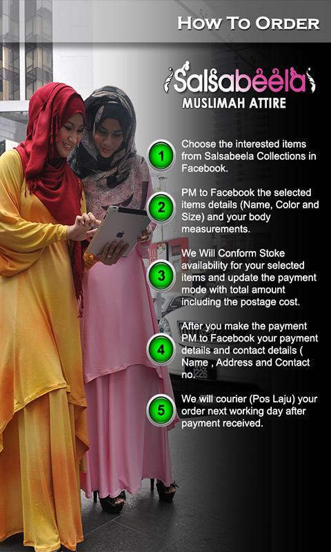 Salsabeela Muslima Attire - screenshot
