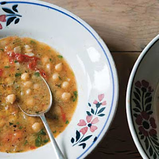 Smoked Paprika and Chickpea Soup.
