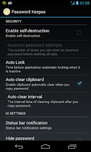 Password Keepox Free - screenshot thumbnail
