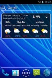 Trentino Meteo Widget - screenshot thumbnail