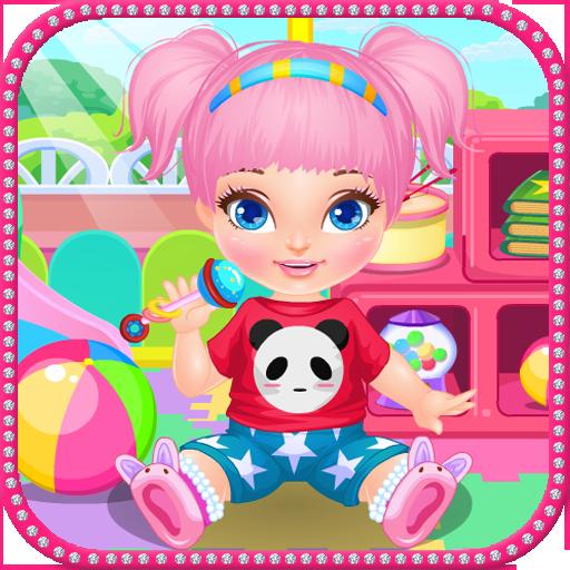 幼儿园照顾婴儿游戏 休閒 LOGO-玩APPs