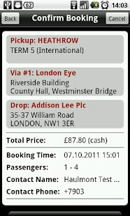 Addison Lee - screenshot thumbnail