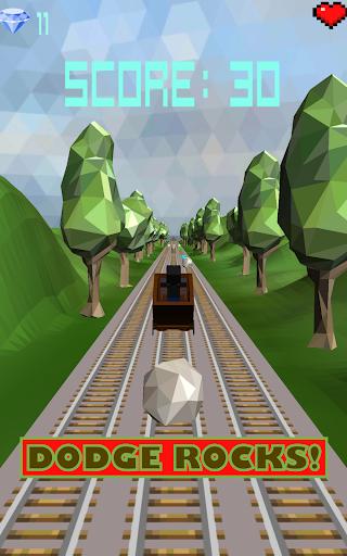 【免費冒險App】Mine Cart Race-APP點子