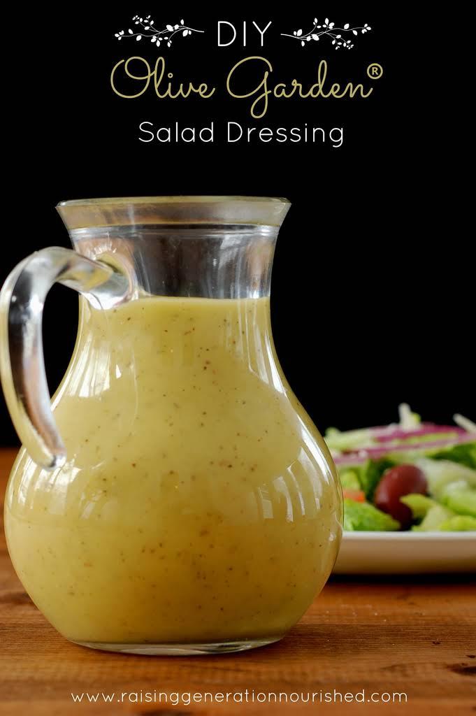 10 best no salt salad dressing homemade recipes - Olive garden italian salad dressing recipe ...