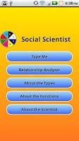 Screenshot of Social Scientist Donate