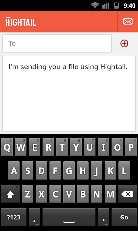 Hightail - screenshot