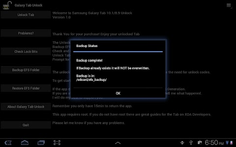 Tab 10.1 Unlock[Root Required] screenshot 3
