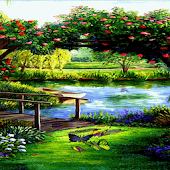 Garden Bridge Live Wallpaper
