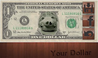 Screenshot of Dollar Bill!