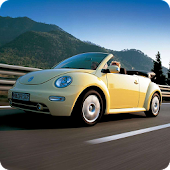 Volkswagen Beetle 3D Wallpaper