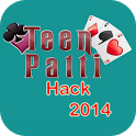 Teen Patti Hack 2014 icon
