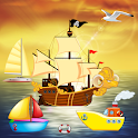 Boat Puzzles for Toddlers Kid icon