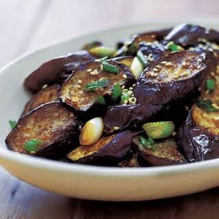Stir-Fried Sesame Eggplant.