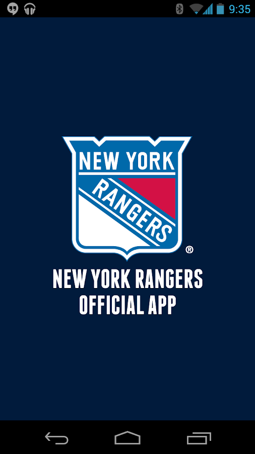 Official New York Rangers App - screenshot