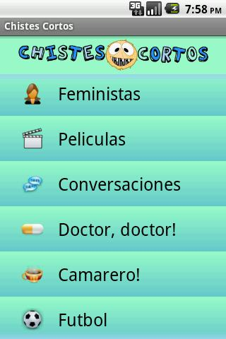 Chistes - screenshot