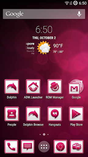 PinkCarbon Icons CM11 Launcher