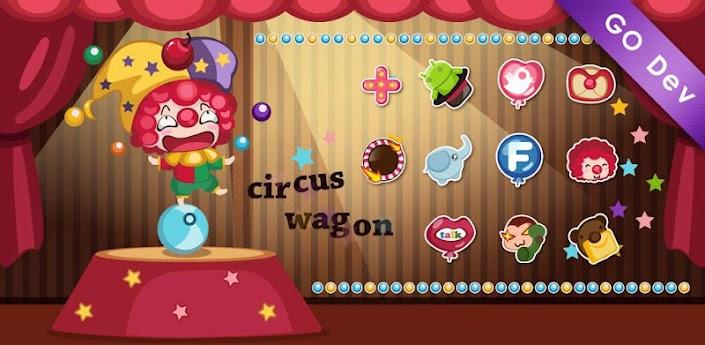 Circus GO Launcher EX Theme apk