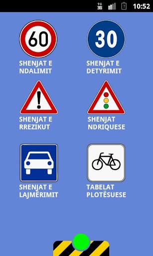 Shenjat e Trafikut