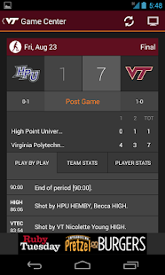 Virginia Tech HokiesXtra - screenshot thumbnail