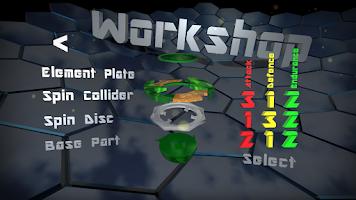 Screenshot of Spin-Tops