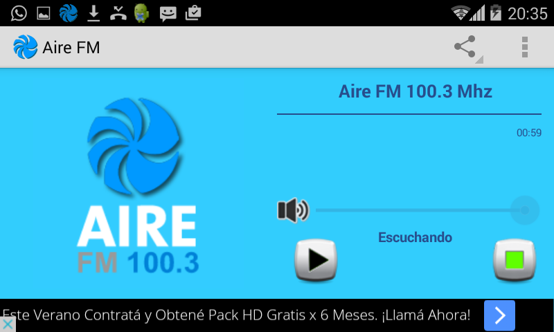 Air FM 100.3- screenshot