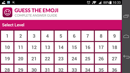 Guess The Emoji Answers, Solutions and Cheats