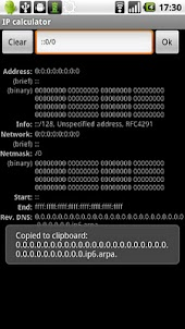 IP calculator (Samsung)