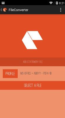FileConverter Pro PDF(/A)+OCR - screenshot