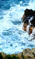 Screenshot of Ocean Waves Live Wallpaper