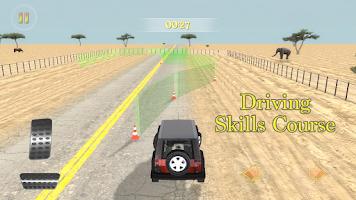 Screenshot of Safari Adventure Racing 4x4