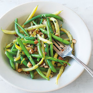 Summer Beans with Lemon and Almonds