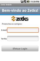 Screenshot of Zetks Mobile