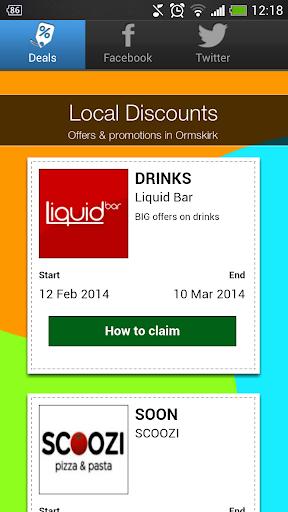 Local Discounts