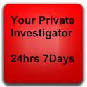 Private Investigator for Hire icon