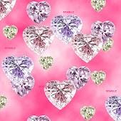 Gem Hearts Live Wallpaper
