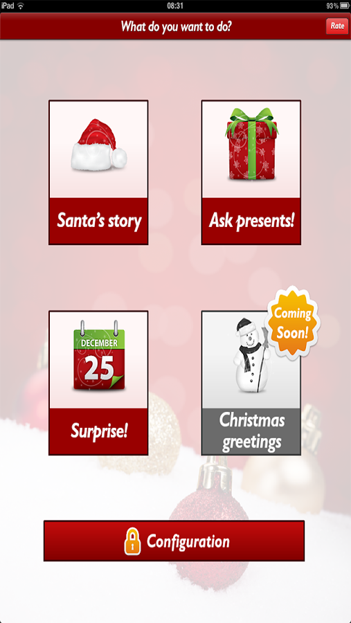 Tell me Santa Christmas Wish - screenshot