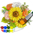 Окраска взрослых (цветок) icon