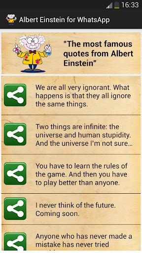 爱因斯坦的WhatsApp