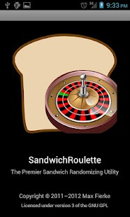 SandwichRoulette- screenshot thumbnail