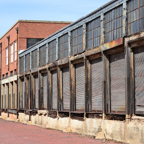 Old Shipping Building, Wichita Falls, TX by Cal Johnson - Buildings & Architecture Decaying & Abandoned ( old, cars, transportation, rust, abandoned )
